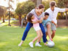 Fodbold i haven
