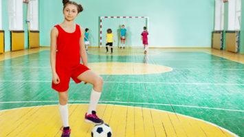 Indendørs fodbold og udstyr