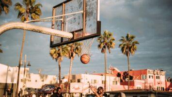 basketball træning udendørs