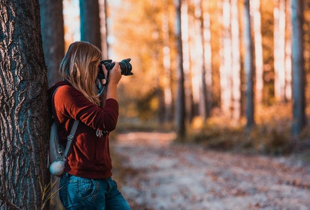 Brug naturen til at skabe dit eget image som influencer