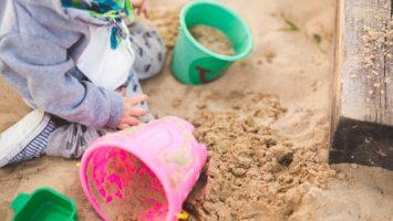 sandkasse - barn