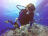 Person dykker med fuldt udstyr