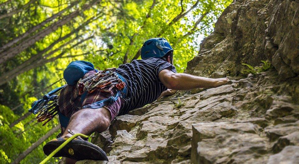 klatring mand